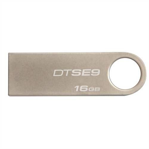 Pen Drive Datatraveler Se9 16gb Usb 2.0 Prata Kingston