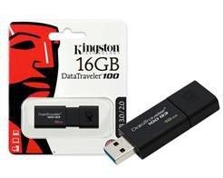 Pen Drive Kingston 16GB USB 3.0 Data Traveler DT100G3/16GB