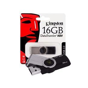 Pen Drive Kingston 16GB USB 2.0 DataTraveler 101 G2 - Preto