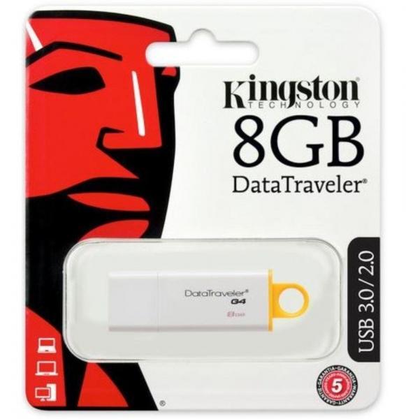 Pen Drive Kingston 8GB USB 3.0 Data Traveler - DTIG4/8GB