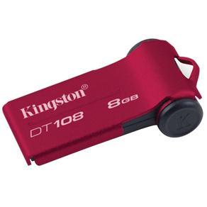 Pen Drive Kingston DT108 8GB Vermelho