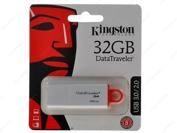 Pen Drive Kingston 32Gb Datatraveler Usb 3.0 Dtig4/32Gb