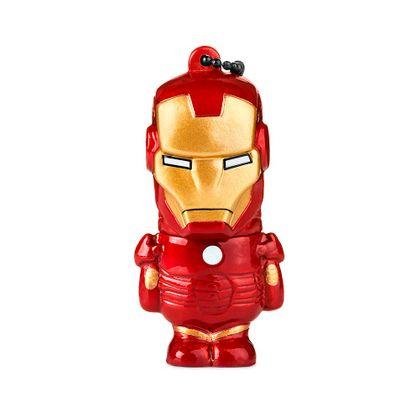 Pen Drive Marvel Vingadores Homem de Ferro 8GB USB Leitura 10MB/s e Gravação 3MB/s Multilaser - PD081 PD081