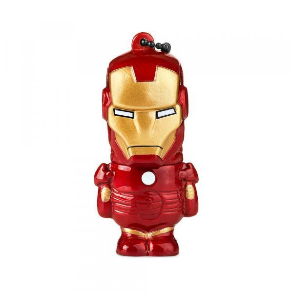 Pen Drive Marvel Vingadores Homem de Ferro 8GB USB Leitura 10MB/s e Gravação 3MB/s Multilaser - PD081