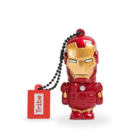 Pen Drive Multilaser Marvel Homem de Ferro 8gb