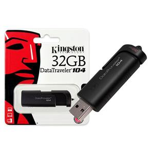 Pen Drive Usb 2.0 Kingston Dt104/32gb Datatraveler 104 32gb