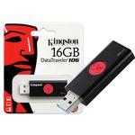 Pen Drive Usb 3.0 Kingston Dt106/16gb Datatraveler 106 16gb
