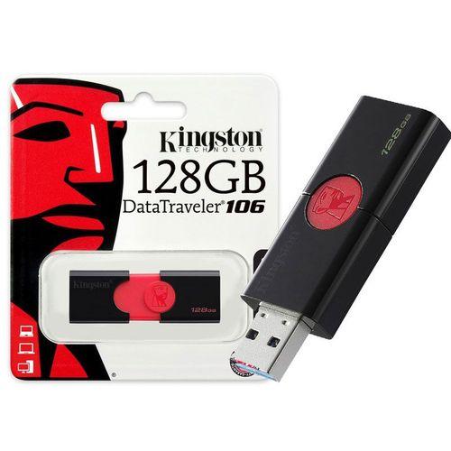 Pen Drive Usb 3.0 Kingston Dt106/128gb Datatraveler 106 128gb
