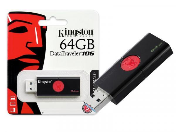 Pen Drive Usb 3.0 Kingston Dt106/64gb 106