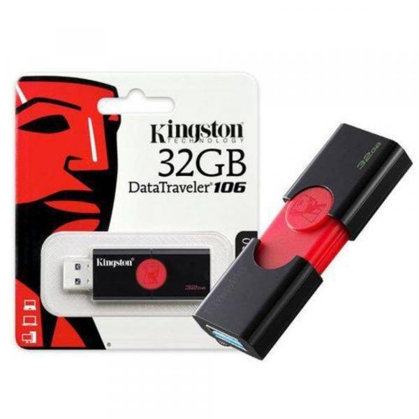 Pen Drive Usb 3.0 Kingston Dt106/32gb Datatraveler 106 32gb