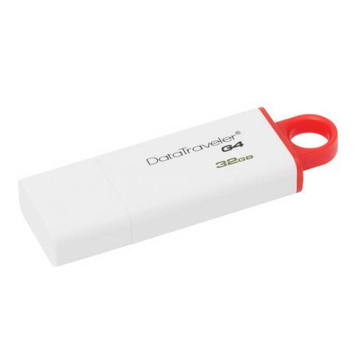 Pen Drive Usb 3.0 Kingston Dtig4/32gb Datatraveler 32gb Generation 4 Vermelho