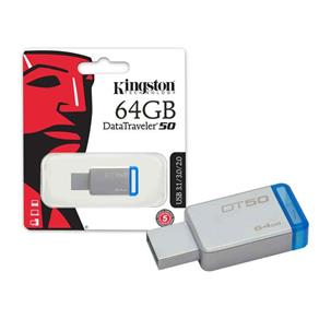 Pen Drive - Usb 3.1 Kingston Dt50/64Gb Datatraveler 50 64Gb