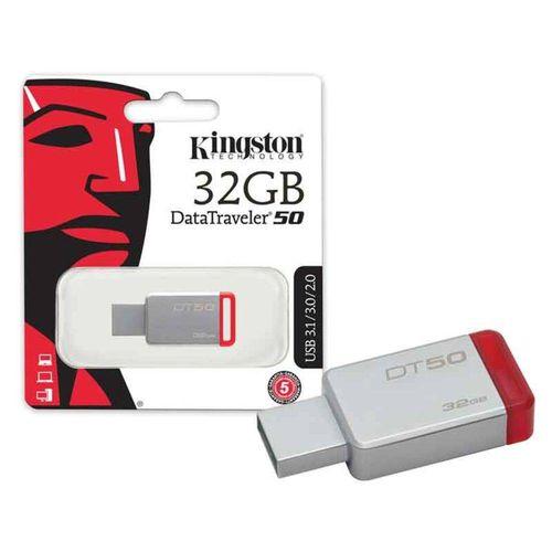Pen Drive Usb 3.1 Kingston Dt50/32gb Datatraveler 50 32gb