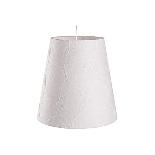Pendente Cônico para 1 Lâmpada Safira Branco 33cm
