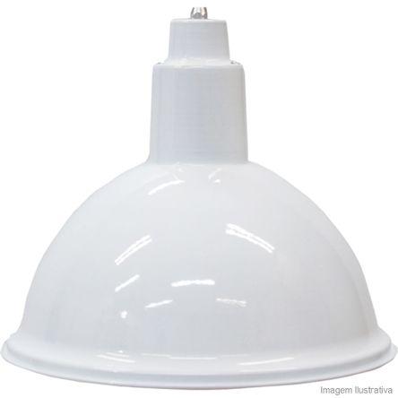 Pendente de Alumínio 15W Branco E27 Taschibra