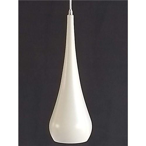 Pendente Nis Branco 1 Lampada E27(Aluminio)