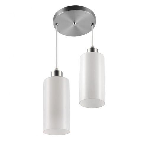 Pendente para 2 Lâmpadas Premium Cores Blumenau Branco