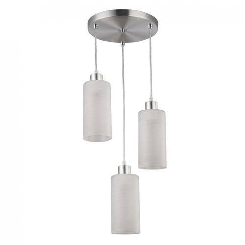 Pendente para 3 Lâmpadas Premium Jasmim Blumenau Branco