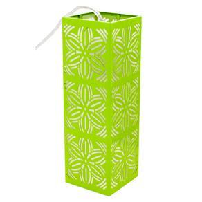 Pendente Taschibra Renda 101 E27 - Verde Limão