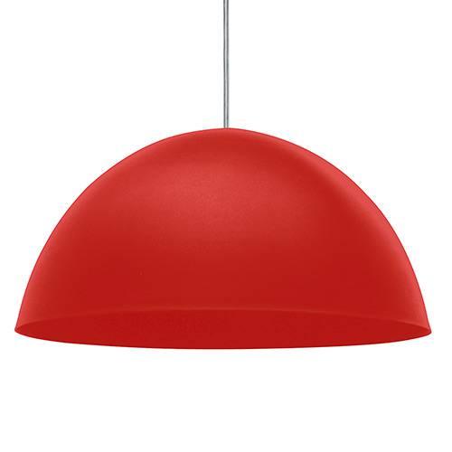 Pendente TD 821F Alumínio Vermelho Fosco - Taschibra