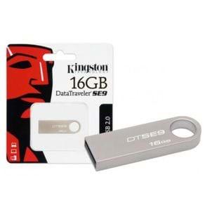 Pendrive 16GB USB Kingston DTSE9H/16GBZ Prata