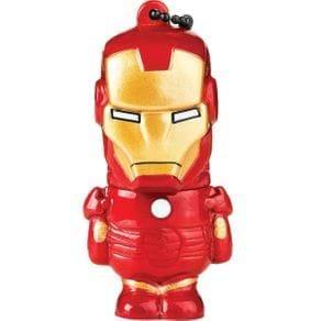 Pendrive 8GB USB Multilaser Marvel Vingadores Homem de Ferro PD081