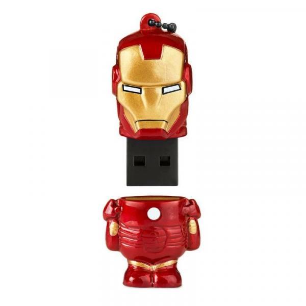 Pendrive Homem de Ferro Vingadores Marvel 8GB - Multilaser