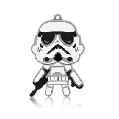 Pendrive Star Wars Stormtrooper Multilaser 8gb