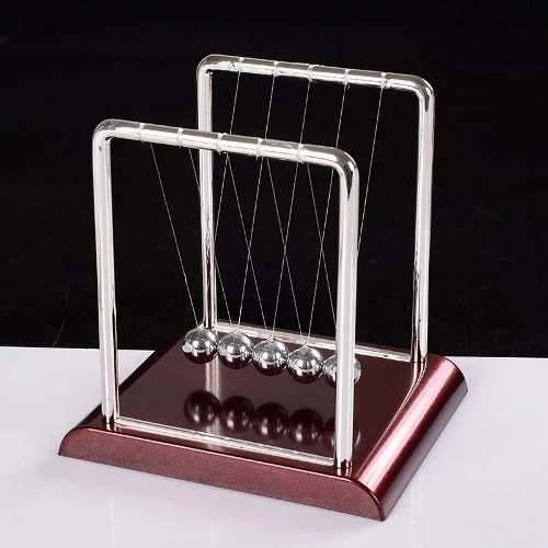 Tudo sobre 'Pêndulo de Newton 18cm Escritório Decoração Jogo de Bolas'