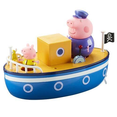 Tudo sobre 'Peppa Pig - Barco do Vovo Pig'