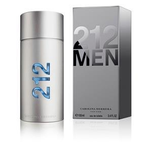 Perfume 212 Men Eau de Toilette Carolina Herrera Masculino - 50 Ml