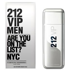 Perfume 212 VIP Men Eau de Toilette Masculino 30 Ml- Carolina Herrera