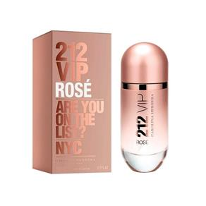 Perfume - 212 Vip Rosé Carolina Herrera - 80ml