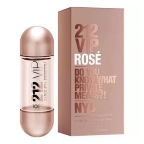 Perfume 212 VIP Rosé Feminino Eau de Parfum - Carolina Herrera - 50 Ml