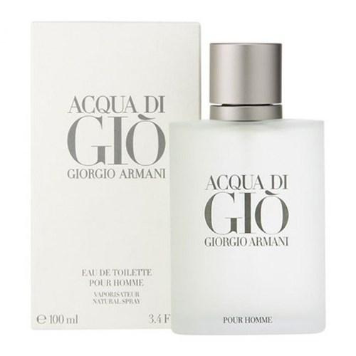 Perfume Acqua Di Gio Homme Eau de Toilette 100 Ml