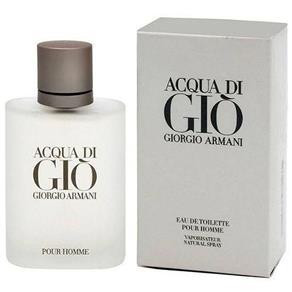 Perfume Acqua Di Gio Pour Homme Edt Masculino Giorgio Armani - 50 Ml