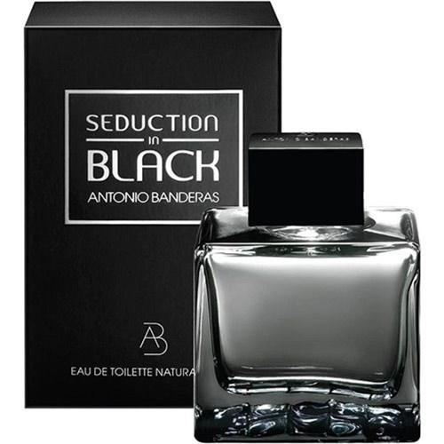 Perfume Antonio Banderas Seduction In Black Edt 200 Ml