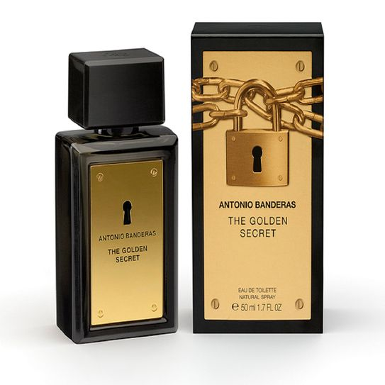 Tudo sobre 'Perfume Antonio Banderas The Golden Secret Masculino 50ml'