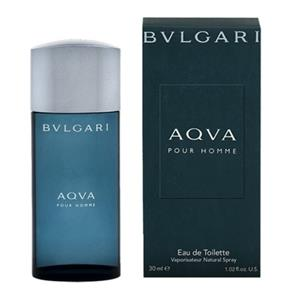 Perfume Aqva Bvlgari Masculino Eau de Toilette 30Ml