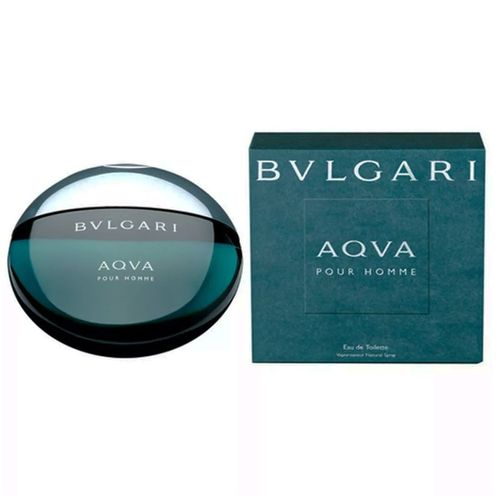 Perfume Aqva Masculino Eau de Toilette 100ml - Bvlgari