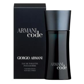 Perfume Armani Code 125ml Eau de Toilette Masculino - 125 ML