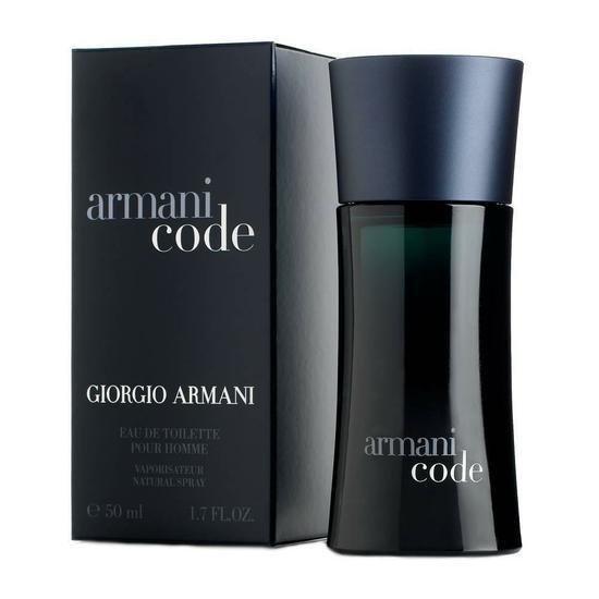 Perfume Armani Code Eau de Toilette 50 Ml