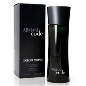 Perfume Armani Code Masculino Eau de Toilette - 75ml