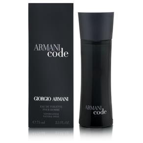 Perfume Armani Code Masculino Giorgio Armani - 75ML