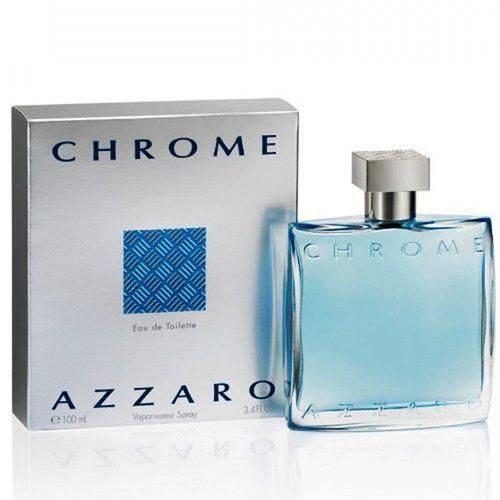 Perfume Azzaro Chrome 100ml Masculino Eau de Toilette - Outros