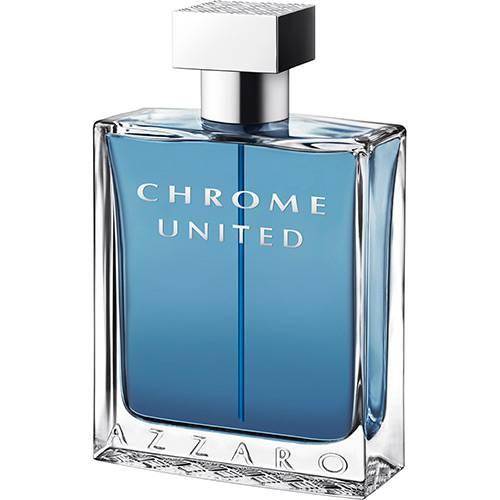 Perfume Azzaro Chrome United Masculino Eau de Toilette 30ml