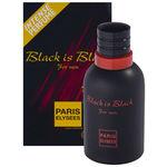 Perfume Black Is Black Masculino Eau de Toilette 100ml | Paris Elysées