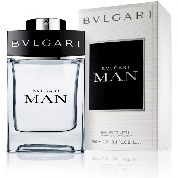 Perfume Bvlgari Man Masculino Eua de Toilette 100ml Bvlgari