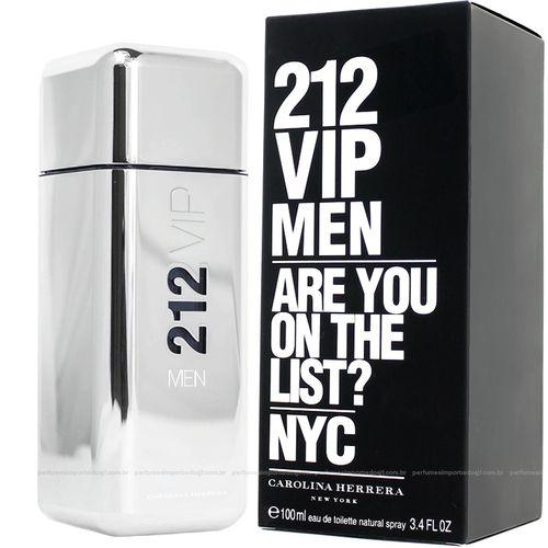 Perfume Carolinâ Herrera 2 1 2 Vip Men Eau de Toilette Masculino 100 Ml