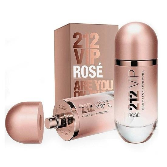 Perfume Carolina Herrera 212 Vip Rosé Eau de Parfum 125 Ml